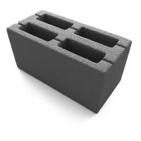 Блок стеновой 20*20*40см